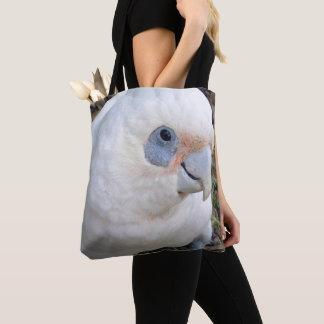 Bolso De Tela Cockatoo blanco de la cara fresca,