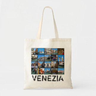 Bolso De Tela Collage de Venecia