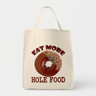 Bolso De Tela Coma más comida del agujero