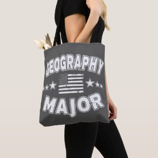 Bolso De Tela Comandante bandera americana patriótica de la