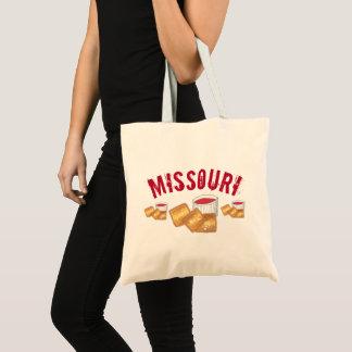Bolso De Tela Comida frita tostada Missouri de los raviolis de