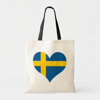 Bolso De Tela Compre la bandera de Suecia