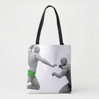 Bolso De Tela Concepto de los artes marciales para luchar y la