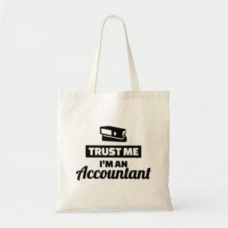 Bolso De Tela Confíe en que yo es contable