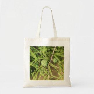 Bolso De Tela Cono de la semilla de Cypress calvo