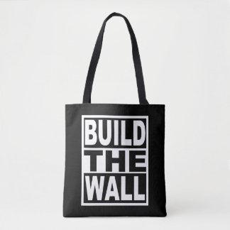 Bolso De Tela Construya la pared