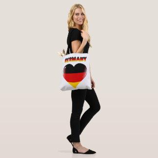 Bolso De Tela Corazón alemán
