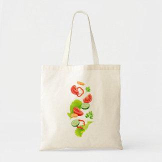 Bolso De Tela Corte las verduras
