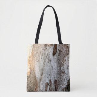 Bolso De Tela Corteza de madera del árbol