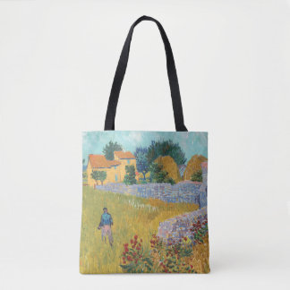 Bolso De Tela Cortijo restaurado en Provence de Van Gogh