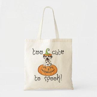 Bolso De Tela Dalmatian de Halloween