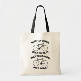 Bolso De Tela De la bici ciclo fresco para siempre -