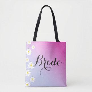 Bolso De Tela De la novia azul suavemente para picar el boda de
