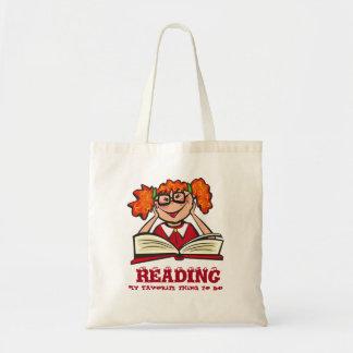 Bolso De Tela Dibujo animado y libros