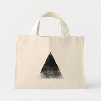 Bolso De Tela Diminuto Black Triangle