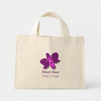 Bolso De Tela Diminuto Flower power