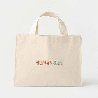 Bolso De Tela Diminuto Humanidad