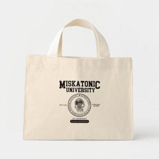 Bolso De Tela Diminuto Lovecraft de la universidad CTHULHU de Miskatonic