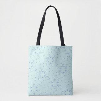 Bolso De Tela Diseño de la estrella azul