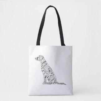Bolso De Tela Diseño del Doodle del labrador retriever
