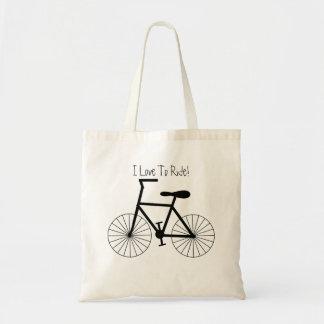 Bolso De Tela Diseño personalizado de la bicicleta