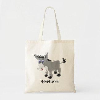 Bolso De Tela Diseño personalizado del burro