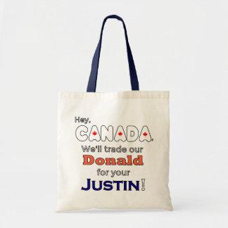 Bolso De Tela Donald comercial para el tote de Justin