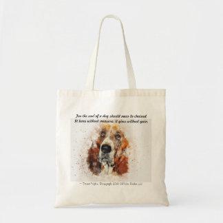 Bolso De Tela El alma de un perro