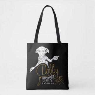 Bolso De Tela El Dobby de Harry Potter el | no tiene ningún amo