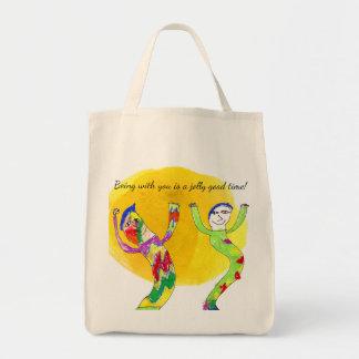 Bolso De Tela ¡El estar con usted es un buen rato alegre! Arte