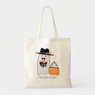 Bolso De Tela El fantasma tonto de Halloween del personalizar