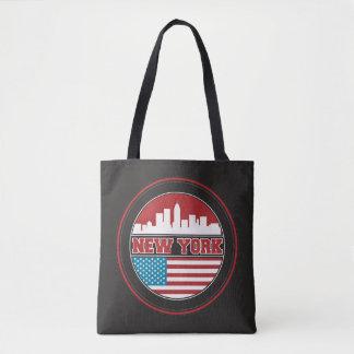 Bolso De Tela El horizonte el   Estados Unidos de Nueva York