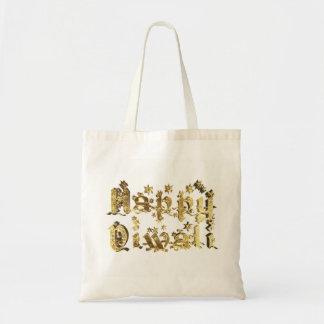 Bolso De Tela El oro elegante feliz de Diwali protagoniza