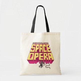Bolso De Tela El sábado por la noche tote del espacio