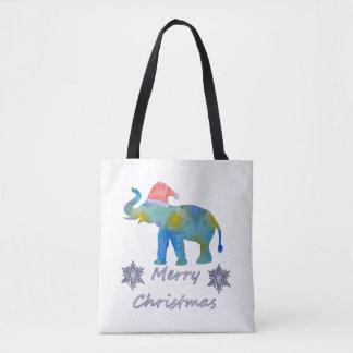 Bolso De Tela Elefante del navidad