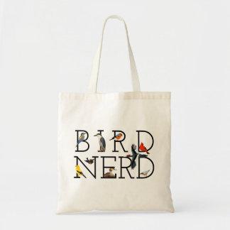 Bolso De Tela Empollón del pájaro