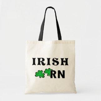 Bolso De Tela Enfermera RN del irlandés
