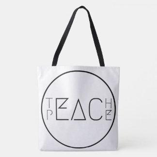 Bolso De Tela Enseñe a la paz