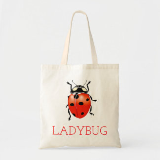 Bolso De Tela Escarabajo de la mariquita