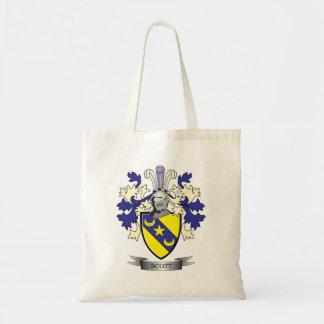 Bolso De Tela Escudo de armas del escudo de la familia de Scott