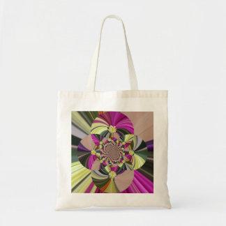 Bolso De Tela Estampado de flores psicodélico abstracto