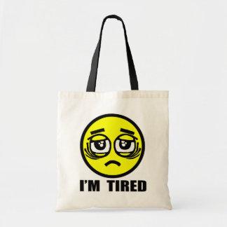 Bolso De Tela Estoy cansado