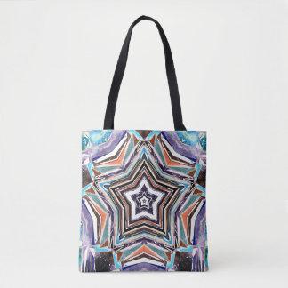 Bolso De Tela Estrella espectral abstracta
