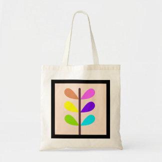 Bolso De Tela Extracto colorido de la planta