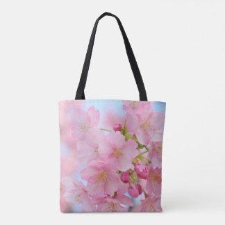 Bolso De Tela Flor de cerezo