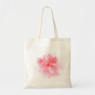 Bolso De Tela Flor rosada suave del Peony