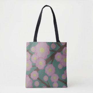 Bolso De Tela Flores de cerezo