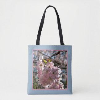 Bolso De Tela Flores de cerezo rosadas 02.2.p