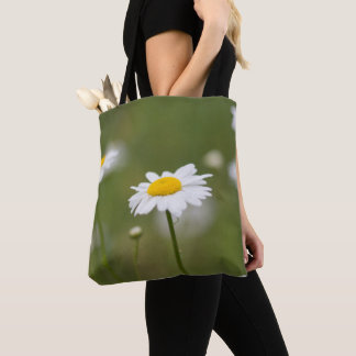 Bolso De Tela Flores de la margarita