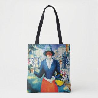 Bolso De Tela Florista de Kazimir Malevich